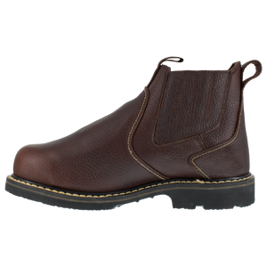 "Iron Age Men's Groundbreaker 6"" Slip- On Work Boot with CushGuard™ Internal Met Guard - IA5018"