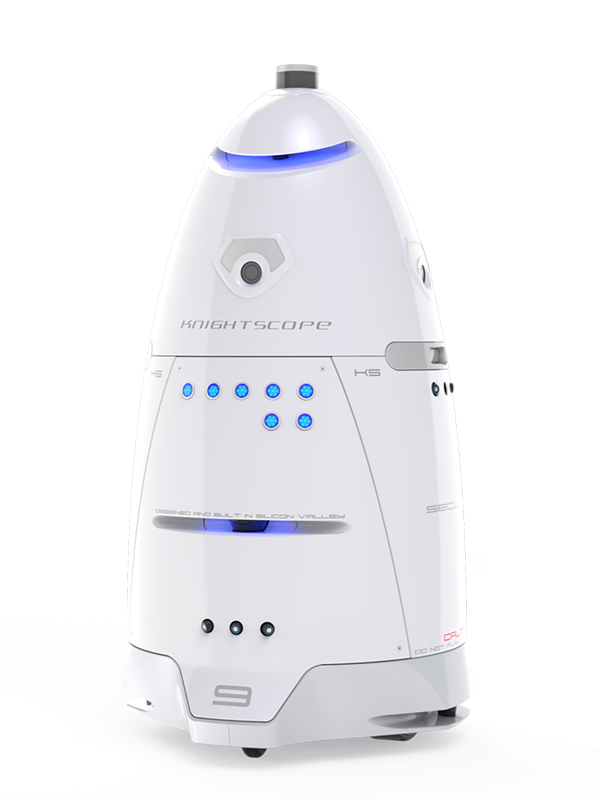 K5 Outdoor Patrolling Robot