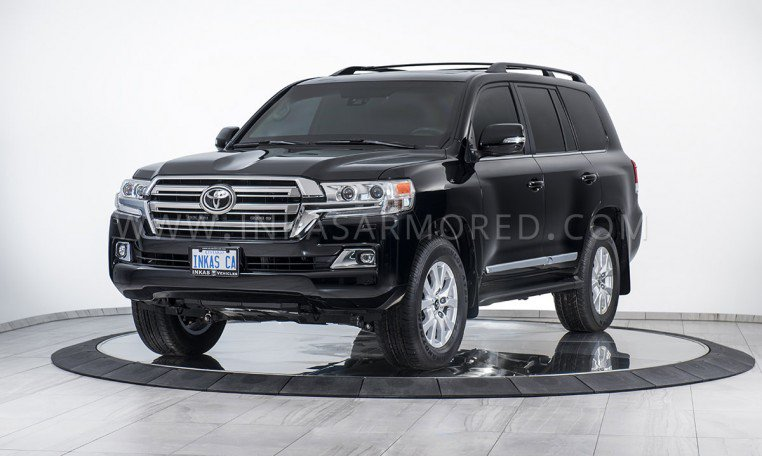 Armored SUV Toyota Land Cruiser