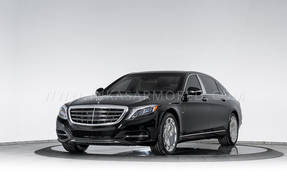 Armored Sedan Mercedes-Maybach S600
