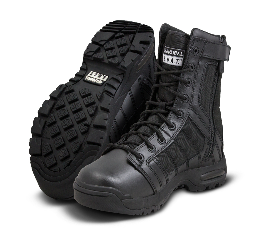 "Original SWAT Tactical Police Metro Air 9"" Side Zip Boots - 123201"