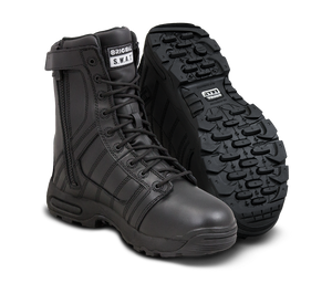 "Original SWAT Tactical Police Metro Air 9"" Men's Side Zip 200 Boots - 123401 - Security Pro USA"
