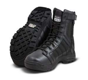 "Original SWAT Tactical Police Metro Air 9"" Side Zip Boots - 123201 - Security Pro USA"