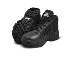 "Original SWAT Tactical Police Metro 5"" Air Side Zip Safety Boots - 126101"