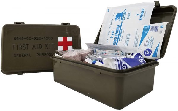 Elite First Aid FA101 - General purpose Military Issue Case