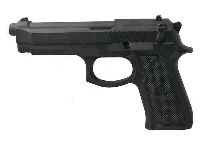 hard rubber training gun