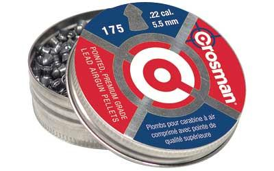Crosman .22 Pointed Pellets 175-tin