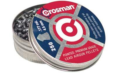 Crosman .177 Pointed Pellets 250-cd