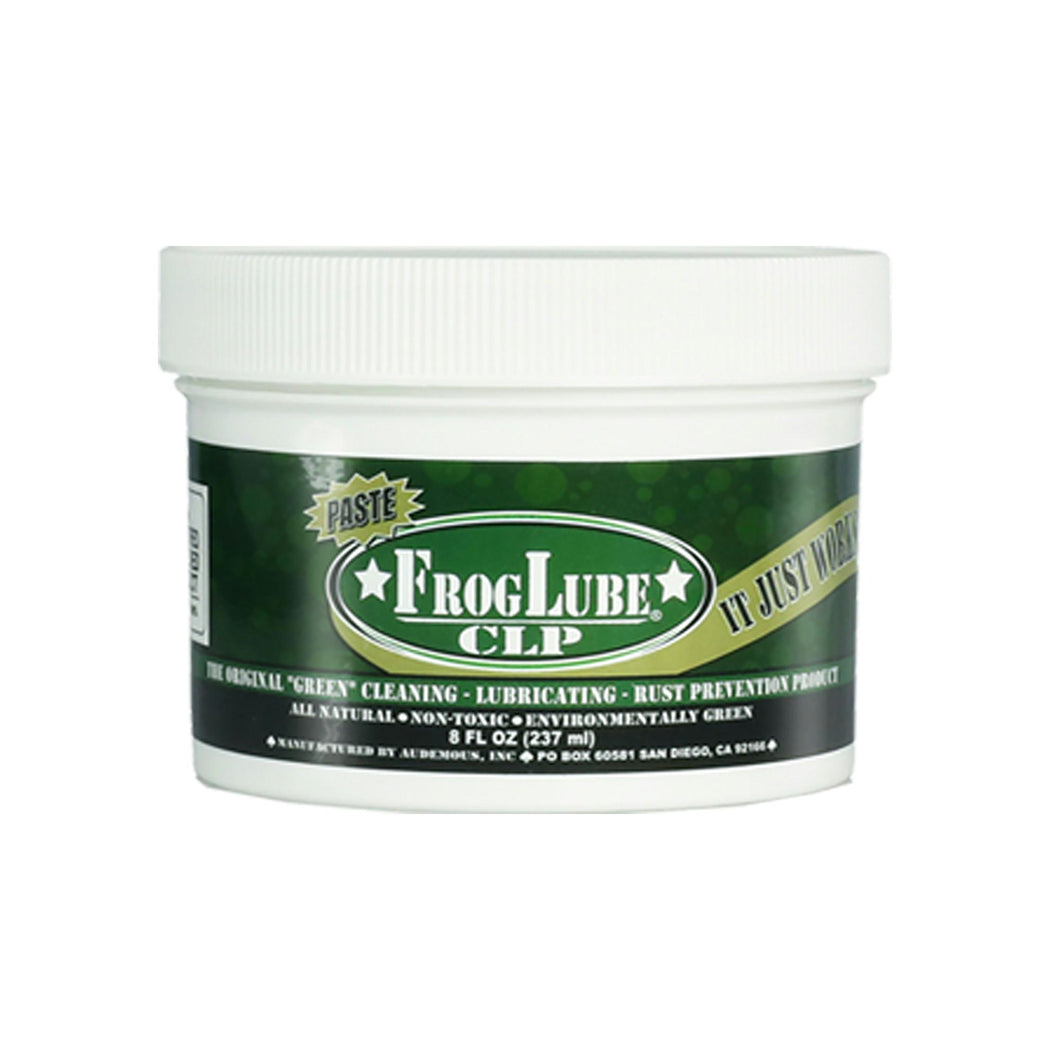 Froglube CLP 8 Oz. Tub of Paste Gun Cleaner Lubricant Protectant