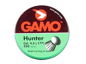 Gamo 250 Hunter Pellts Rnd Nose .177