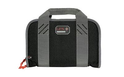 G-outdrs Gps Dbl Pistol Case Black