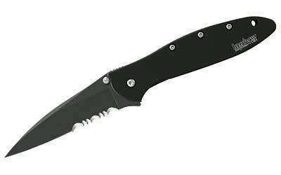 Kershaw Ken Onion Leek Combo Matte Black