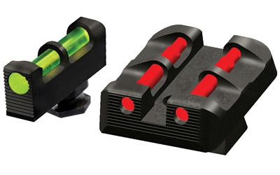 Hiviz Glock Interchange Sight Set