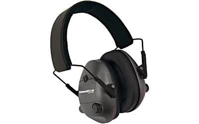 Champion Electronic Ear Muffs Black