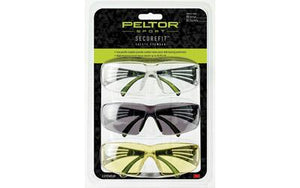 Peltor Securefit 400 Eye Prot 3-pack