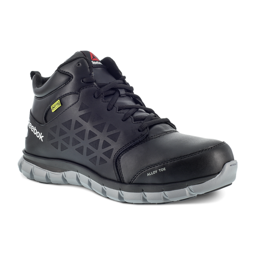 Reebok Men's Sublite Cushion Work Athletic Mid-Cut with CushGuard™ Internal Met Guard - RB4143