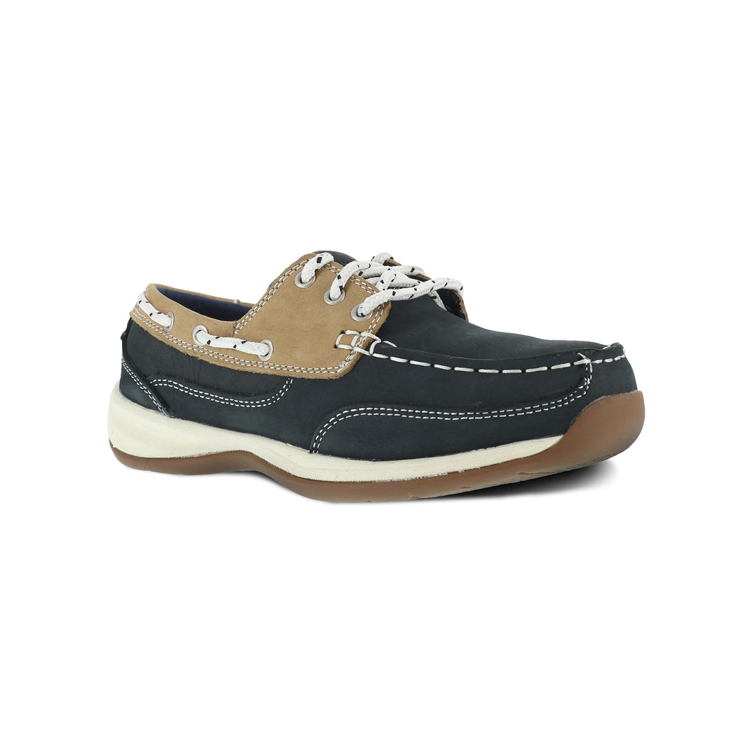 Rockport Women's Sailing Club Three Eye Tie Boat Shoe - RK670