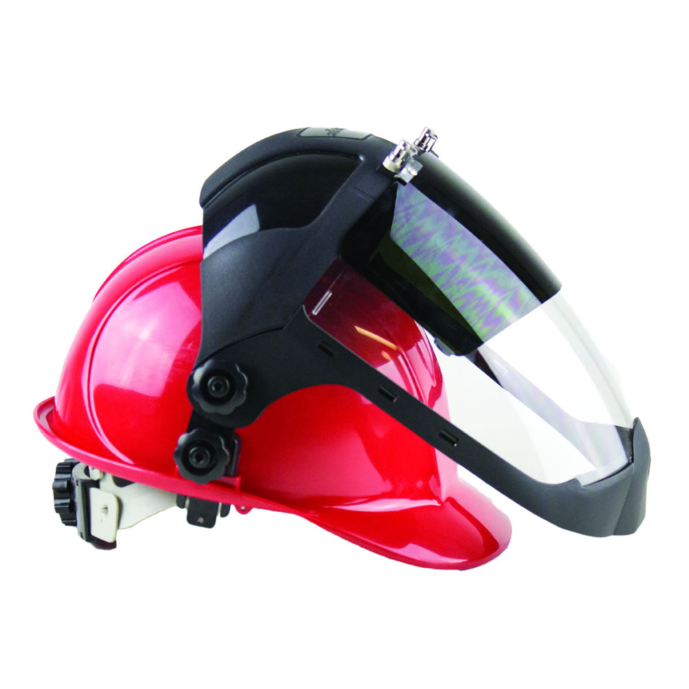 DP4 Series – Flip-Up IR Hard Hat Adaptor and Chin Guard