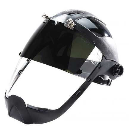 Sellstrom DP4 Flip-Up Anti-Fog Face Shield  W/ Chin Guard