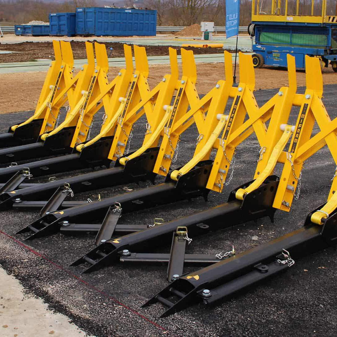 SAMSON Modular Barrier For Heavy Weight Vehicles