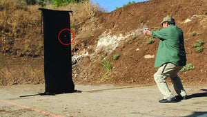 Scarlet Bulletproof Protective Shield Firing Test