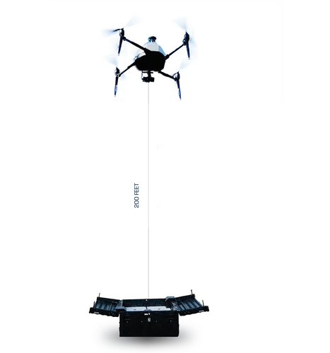 Tethered Drone System