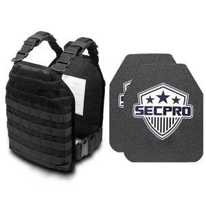 SecPro Buffalo Rapid Response Kit Bulletproof Vest Tactical Ballistic
