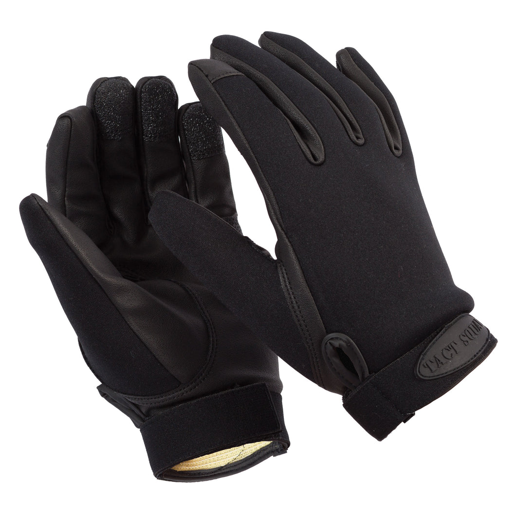 Tact Squad Neoprene Gloves with Kevlar Lining - TG110 - Security Pro USA