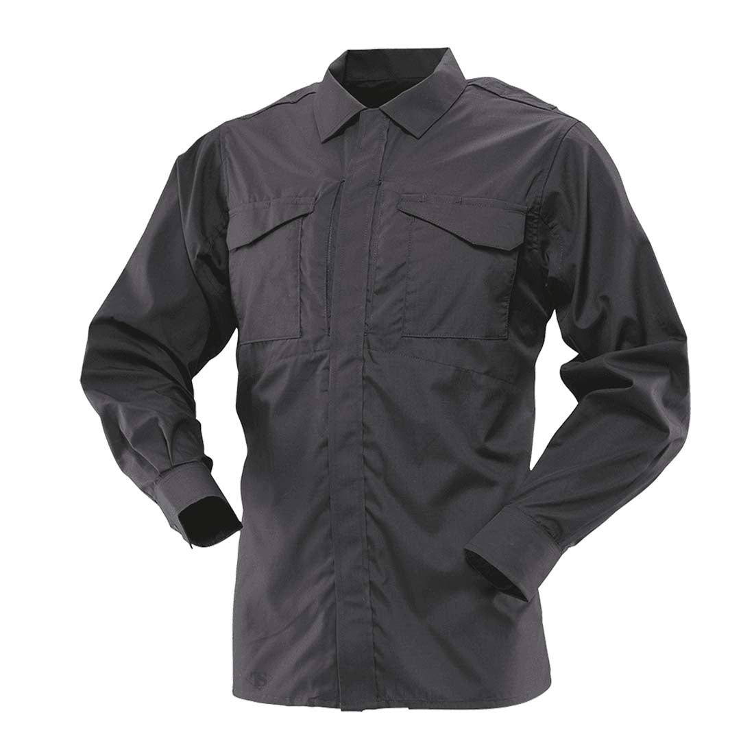Tru-Spec 1051 Black Men's Ultralight Long Sleeve Uniform Shirt
