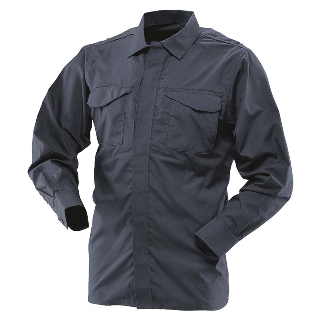 Tru-Spec 1058 Navy Men's Ultralight Long Sleeve Uniform Shirt