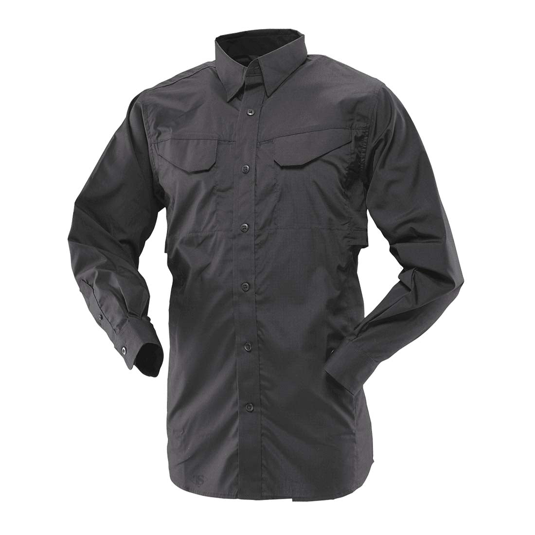 Tru-Spec 1101 Black Men's Ultralight Long Sleeve Field Shirt