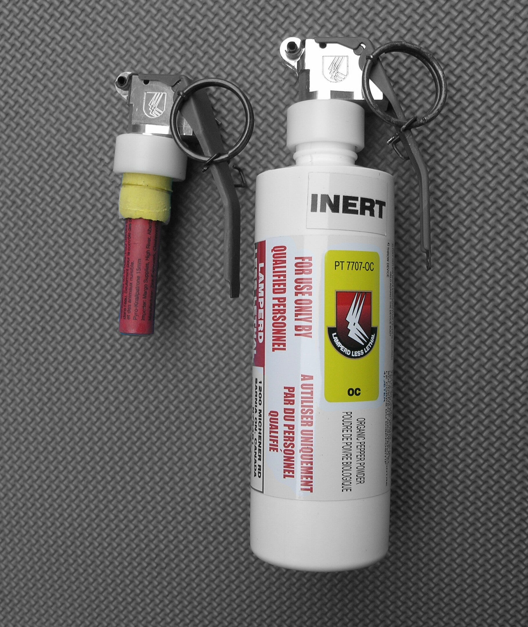 Pepper Spray Throwaway Grenade