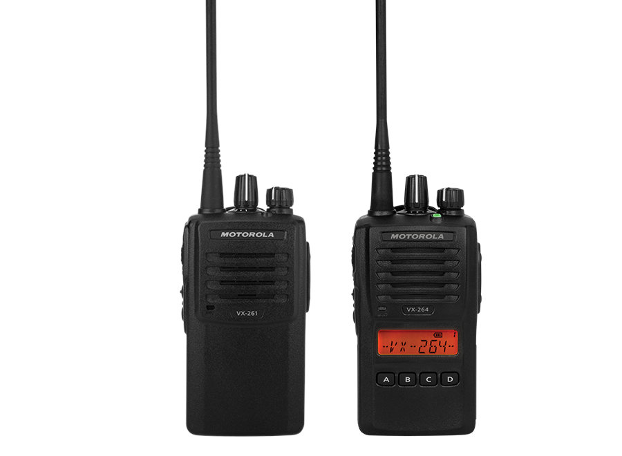 VX-260 Series Portable Analog Radio & Battery Only