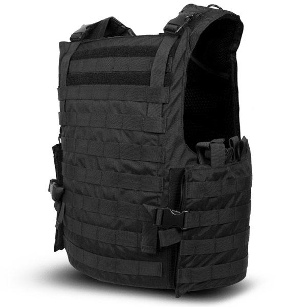 SecPro Titan Tactical BulletProof Assault Vest Tactical Ballistic - Black