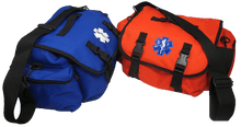Elite First Aid FA125 - Pro - II Trauma Bag - Red & Blue