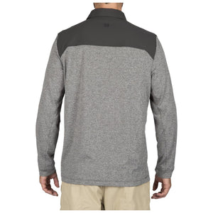 5.11 Tactical 72430 Men Rapid Long Sleeve Polo Volcanic
