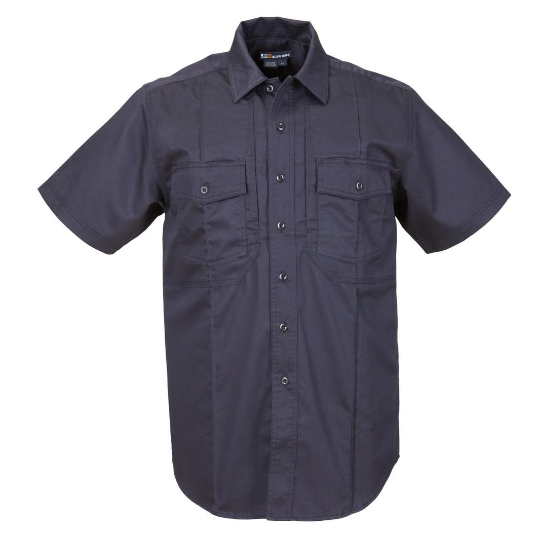 5.11 Tactical 46124 Men Station Non-NFPA Class-B Short Sleeve Shirt Fire Navy