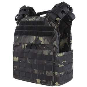Condor US1020-021 Cyclone Plate Carrier- Multicam Black (Armor)