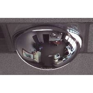 Brossard Drop Ceiling Full view - Acrylic See-Though Mirror