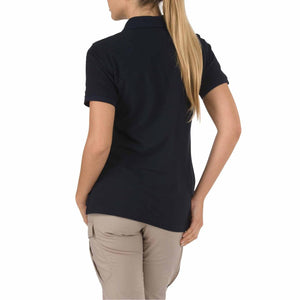 5.11 Tactical 61173 Women's Utility Short Sleeve Polo Dark Navy