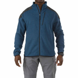 5.11 Tactical 72407 Men Tactical Full Zip Sweater Regatta