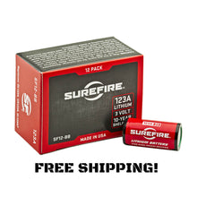 Surefire SF12-BB | Surefire CR123A Lithium Batteries - Boxed