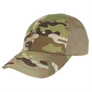 Condor Mesh Tactical Team Multicam Cap