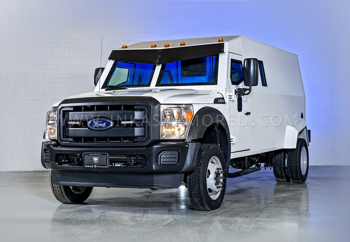 Armored Ford F-550 Cash In Transit Van