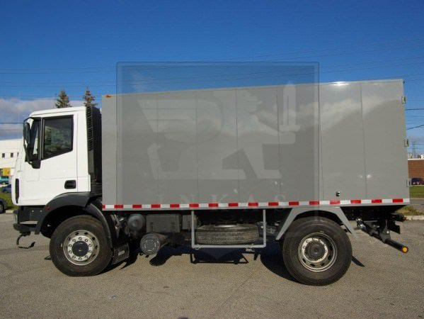 Armored Cash in Transit Truck Iveco Eurocargo