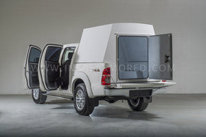 Armored Cash in Transit Van Toyota Hilux