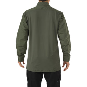 5.11 Tactical 72071 Men Stryke TDU Rapid Long Sleeve Shirt TDU Green Reguler - Small