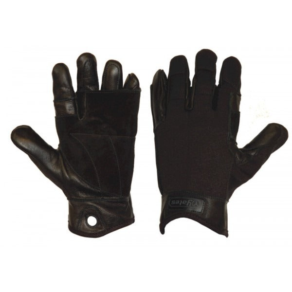 Yates 925 Tactical Rappel - Fast Rope Gloves Black