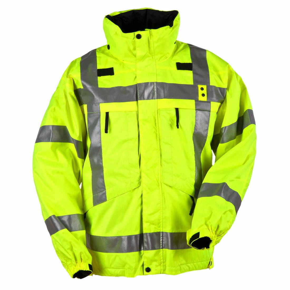 5.11 Tactical 48033 Men 3-In-1 Reversible High-Visibility Parka High-Vis Yellow