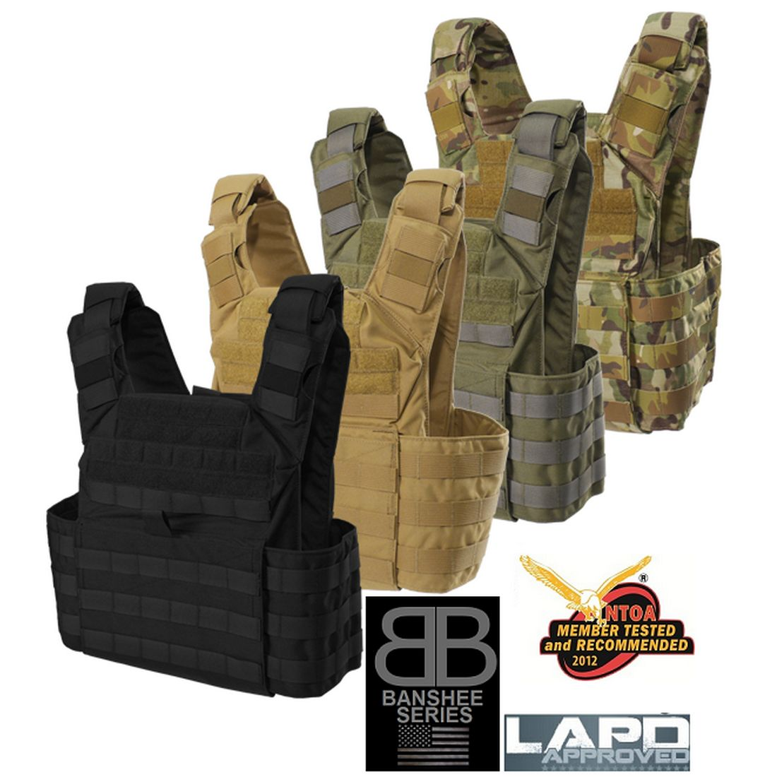 Shellback Tactical Banshee Rifle Plate Carrier - Main